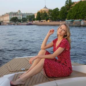 Публикация c товаром Платье арт.D0421006 Цвет: Красный бренда YOU в Instagram