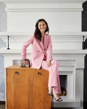Публикация c товаром Жакет арт.J0420001 Цвет: Розовый бренда YOU в Instagram
