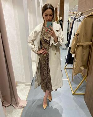 Публикация c товаром Платье арт.D0419006 Цвет: Коричневый бренда YOU в Instagram